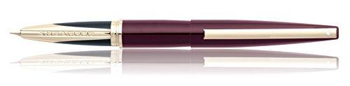sheaffer-taranis-stylo-plume-de-luxe-stormy-wine-avec-bordure-or-et-boite-de-presentation