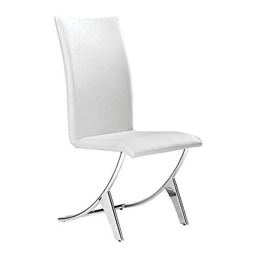 Delfin Dining Chair - Set of 2 White
