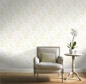 Gran Deco Bouquet Wallpaper - Cream by New A-Brend
