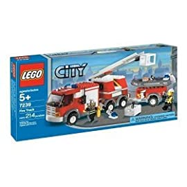 LEGO City Fire Truck (7239) [Toy]