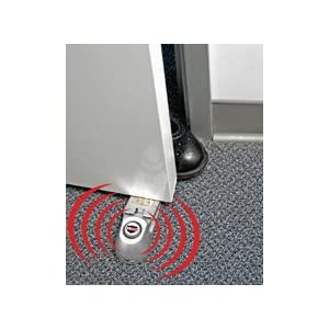 Security Door Stopper Alarm (door alarm wireless) - Be worry free! - As Seen on TV - Keep your family safe and secure - inexpensive security! Great gift idea for the home! Can be used as a door alarm for kids - wireless door chime!