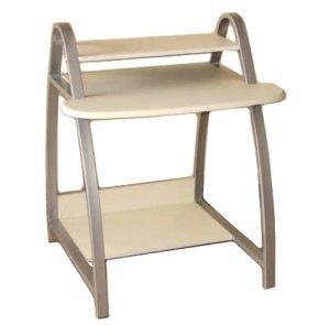Tavolo tavolino scrivania per pc silver casa e for Tavolini per ufficio