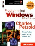 img - for Programming Windows , Fifth Edition 5th Edition by Petzold, Charles [Hardcover] book / textbook / text book