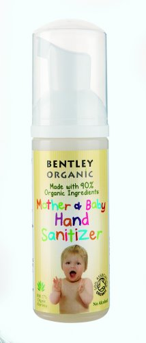 Bentley Mother & Baby Organic Hand Sanitizer per madre e bambino, 2-pack (2 x 50 ml)