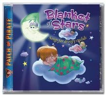 0909147 Blanket of Stars: Songs for Droopy Eyelids CD (Patch the Pirate), Ron Hamilton