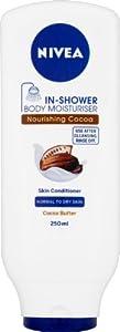 Nivea In-Shower Body Moisturiser Skin Conditioner Nourishing Cocoa 250 ml