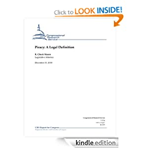 Piracy: A Legal Definition: R. Chuck Mason: Amazon.com: Kindle Store