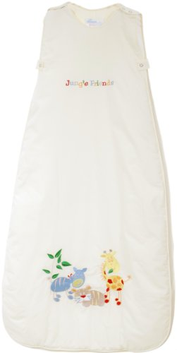 The Dream Bag Baby Sleeping Bag Jungle Friends 6-18 Months 1.0 Tog - Cream