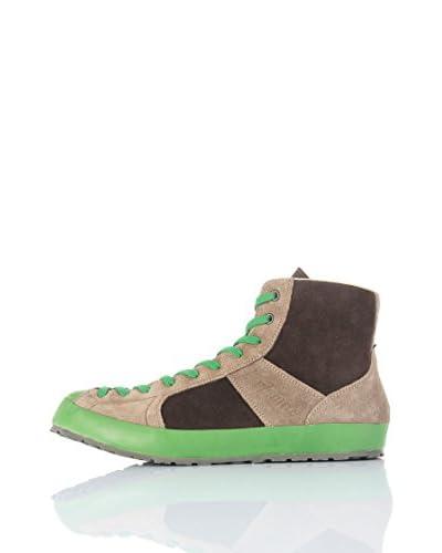 Dolomite Sneaker Alta Settantanove High Su [Fango/Verde]
