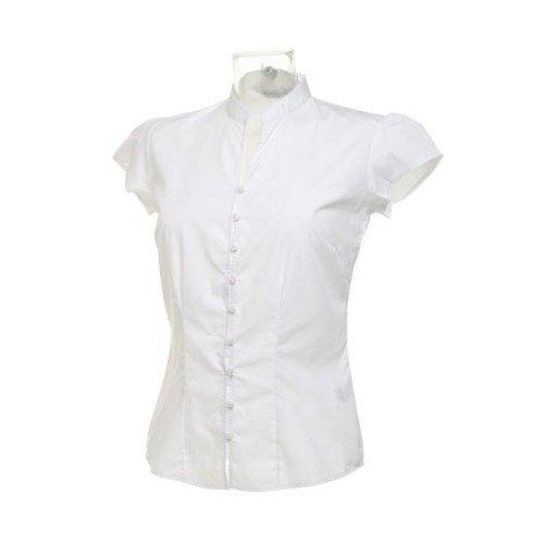 Kustom Kit Ladies Cap Sleeve V Neck Continental