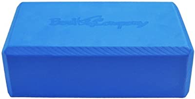 Elite Yoga Pilates Block blue 22,5 x 13,5 x 8cm Yogaklotz (Stück) - Koordination, Motorik, Kondition und Kraft