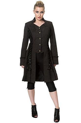 Potenza Banned fa bella giacca Long Line - Black / L