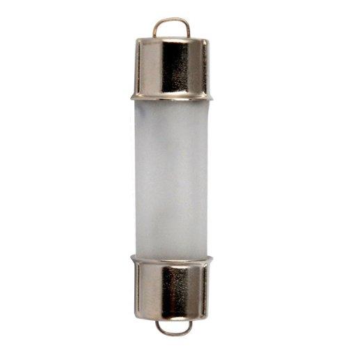 Bulbrite 715830 - 10 Watt Xenon Light Bulb - T3.25 - Rigid Loop Cap Base - /Xenon - Frost - 20,000 Life Hours - 100 Lumens - 12 Volt