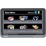 Sanyo Easy Street NVM-4370 4.3-Inch Portable GPS Navigator