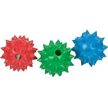 PETCO Solid Rubber 3″ Spiked Ball Dog Toy