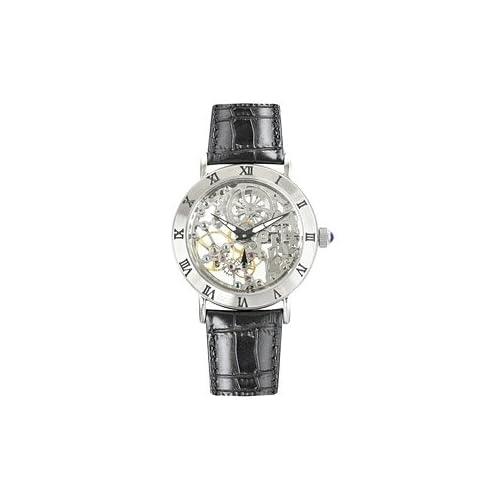 【国内正規品】 アルカフトゥーラ ARCA FUTURA 腕時計 手巻き スケルトン 212SK-BK メンズ