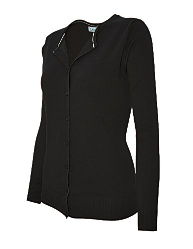 cielo-womens-round-neck-button-cardigan-1xlarge-styled-black