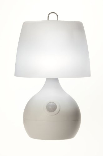 Fulcrum 20020-108 8 Led Sensor Table Lamp, White