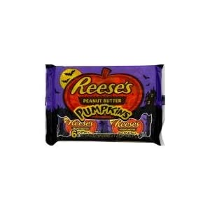 Hershey Reeses Peanut Butter Pumpkins 6 Pack of 3 (18 Pumpkins Total)