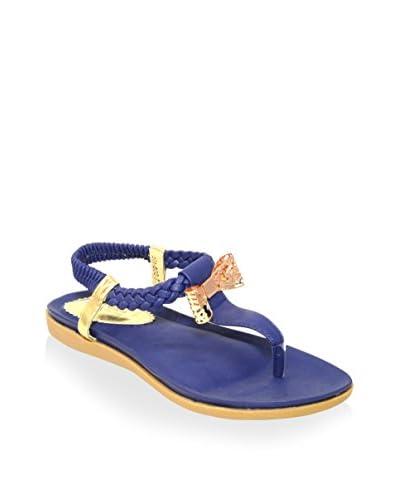 Henry Ferrera Women's Zita 600 Sandal  [Blue]