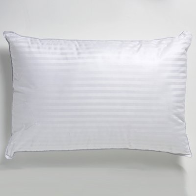 LUXURY 250 THREAD COUNT HOTEL QUALITY SATEEN STRIPE PILLOW CASES PAIR PACK