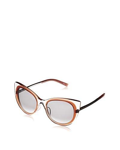Jill Sander Gafas de Sol J0001-C (53 mm) Transparente / Naranja