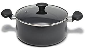 Kitchen Pro Nonstick Cookware Set, 10-Piece, Black