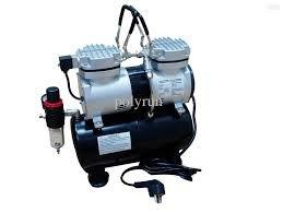 Aerograph Airbrush Mini Oil Less Air Compressor with Tank