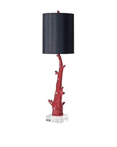 Home Philosophy Red Coral Branch Lamp, Red