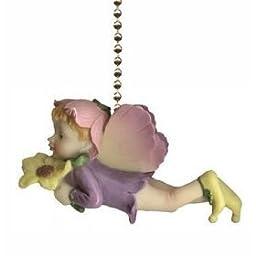 Winged Fairy Pixie Fairies Kid\'s Ceiling Fan Light Pull