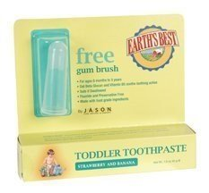 Earth's Best Toddler Toothpaste Strawberry Banana -- 1.6 oz