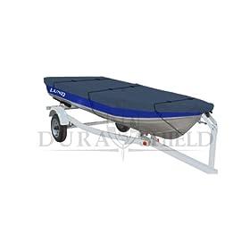 DuraShield Trailerable Aluminum Fishing Boat Cover 14' to 16' 2L