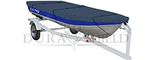 DuraShield Trailerable Fishing Boat Cover for Aluminum and V-hull 14' to 16'