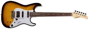 Fernandes Guitars Revolver Classic see thru Tobacco Sunburst Electric Guitar, Tobacco sunburst