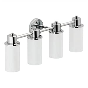 Moen DN0764CH Iso 4 Globe Bath Light Chrome Vanity Lighting Fixtures Ama