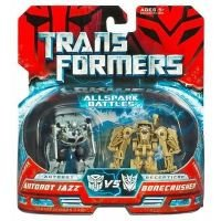 Buy Transformers Movie Legends Mini Allspark Battles 2-Pack Autobot Jazz Vs. Bonecrusher