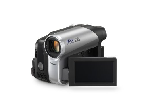 Panasonic PV-GS90 MiniDV Camcorder with 42x Optical Image Stabilized Zoom