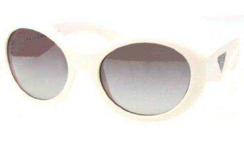 pradaPrada PR30PS Sunglasses-7S3/0A7 Ivory (Gray Gradient Lens)-55mm