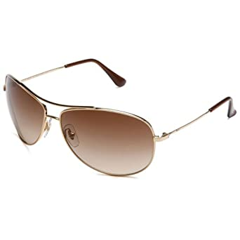 Ray-Ban RB 3293 Sunglasses Styles - Silver Frame / Gray Gradient Lenses, RB3293-003-8G-67 (63 mm, Gold Frame / Brown Gradient Lenses)