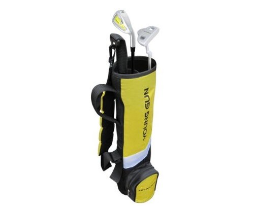 Young Gun BIRDIE YELLOW Junior golf club set & bag for kids Ages 3-5 RH