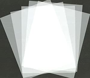 Amazon Com Blank Stencil Making Sheets 8 5 Quot X 11 Quot Frosted