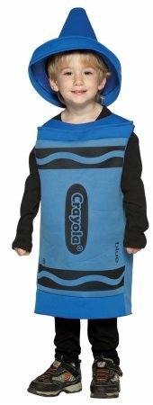 Costumes For All Occasions Gc450403 Crayola Toddler Blue 3T-4T