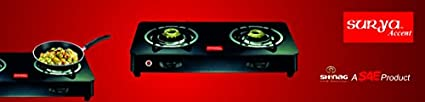 Accent Glass Top Gas Cooktop (2 Burners)