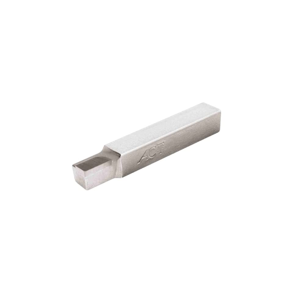 American Carbide Tool Carbide-Tipped Tool Bit for Straight Turning AL 5 Size C2 Grade Left Hand 0.3125 Square Shank