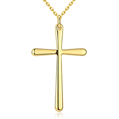 simple-24-k-chapado-en-oro-cruz-colgante-collar