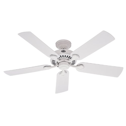Hunter 21782 52-Inch Five Minute Ceiling Fan (White)