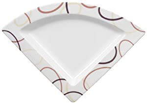 Villeroy & Boch New Wave Ethno 8-1/2-Inch Triangular Plate
