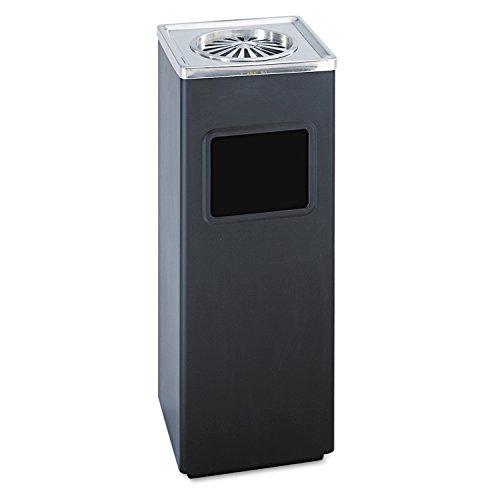 ash-n-trash-sandless-urn-square-stainless-steel-3gal-black-chrome