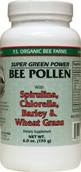 YS Royal Jelly Honey Bee Pollen wiith Spirulina 