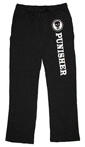 Marvel Comics Punisher Knit Graphic Sleep Lounge Pants - Medium (Marvel Superheroes Pajamas compare prices)